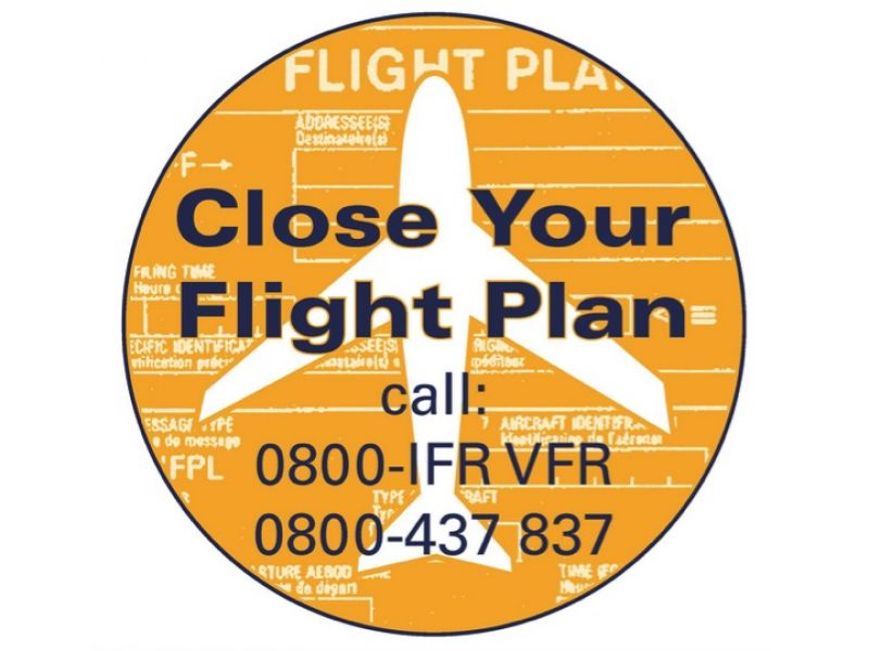 Close your flightplan!