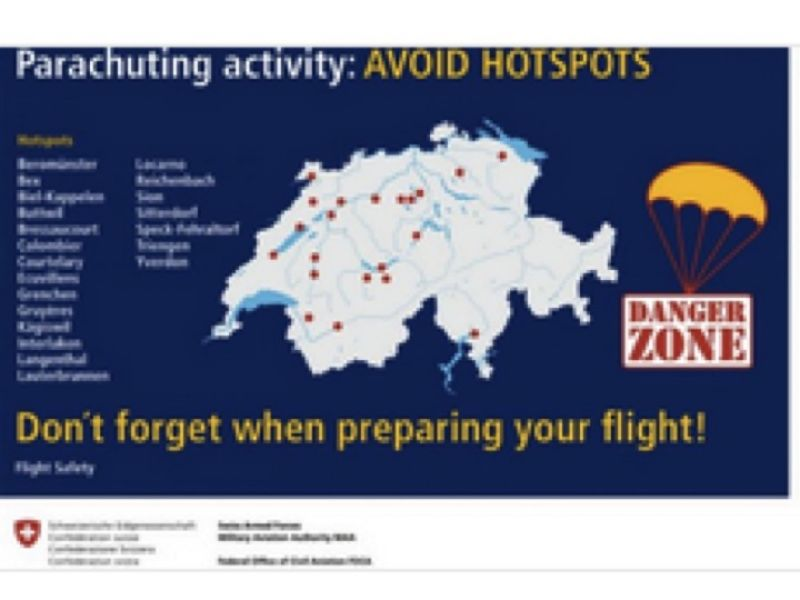 Awareness Kampagne AVOID HOTSPOTS